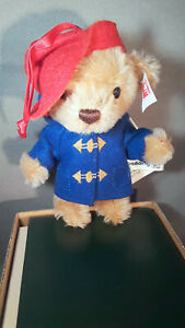 STEIFF Paddington USA and UK Exclusive 5 inches cinnamon mohair store New 2020