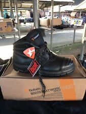 Goliath EL170DDR Safety Boots Steel Toe Caps & Midsole Size 7 No Box
