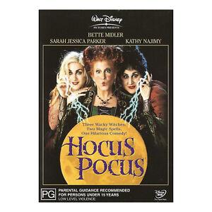 Hocus Pocus DVD Brand New Region 4 Aust. - Bette Midler, Sarah Jessica Parker