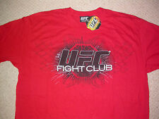 UFC Fight Club T shirt EXTRA LARGE XL. MMA BJJ Muay Thai Boxe in palestra KSW K1 NUOVO