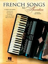 French Songs for Accordion Accordion Book NEW 000311498