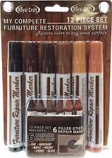 12 Pieces Furniture Repair System Restore Scratched Furniture Any Wood Surface