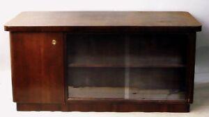 Schreibtisch Art Deco - BAUHAUS, Palisander, frei stellbar