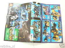 LEGO BROCHURE FLYER CATALOG TOYS TECHNIC 1998 DUTCH 2 PAGES 134 COMPETITION