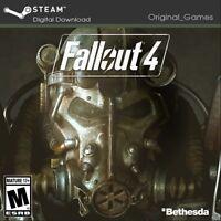 Fallout 4 PC Steam Key Digital Region free Global (No CD/DVD)