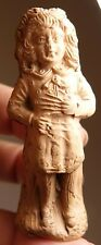 Vintage Antique Toy Redware Clay Whistle Figurine Germany Slovenly Peter Story