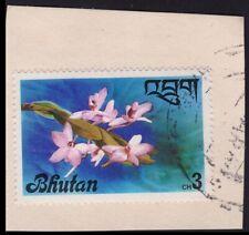 BHUTAN stamp on piece @PM012