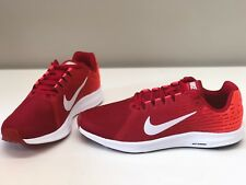 NIB MENS SIZE 12 NIKE DOWNSHIFTER 8 RUNNING SNEAKERS RED 852459-009