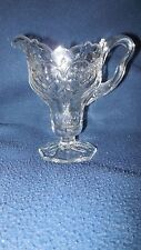 "EAPG - McKee Glass Co. ""Rock Crystal"" footed creamer"