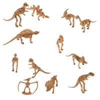 12 Skeleton Bone Dino Dinosaur Kids Toy Figure Party Goody Bag Favors