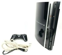 Sony Playstation 3 PS3 Fat 40GB Console With AC Game & Controller CECHH01 Tested