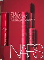 NARS Climax Dramatic Volumizing MASCARA Explicit Black MINI .06oz/1.8g NEW