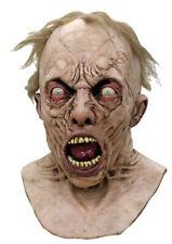 World War Z Zombie Mask & Neck Scary Full Overhead Latex Rubber Halloween Horror