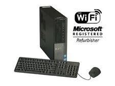 Dell OptiPlex 790 DT Intel Core i3 Windows 7/10 250GB 4GB/8GB WiFi PC Desktop