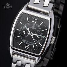 Poljot 26668 - Aero Club schwarz - Tonneau - Russiche Uhr NOS - Mechanische Uhr