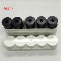Black / White Plastic Hard Case Box For 5 rolls 120 film Storage Case Lucky Film
