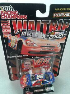 NASCAR Racing Champions #66 Darrell Waltrip Route 66 2000 1:64 Taurus - NIP
