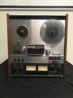 TEAC A-6300 AUTO REVERSE TRACK STEREO 10.5 INCH REEL TO REEL TAPE DECK RECORDER