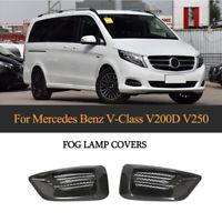 PairCARBON Nebelscheinwerfer Blende für Mercedes Benz W447 V Klasse V250 Bj16-18