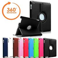 """iPad 360 Rotating Stand Case Cover Fits Apple iPad 5th Generation 2017 9.7"""""""