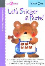 Lets Sticker & Paste! (Kumon First Steps Workbook