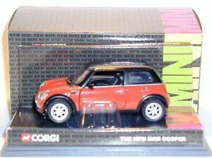 New Mini Cooper (Flamenco Orange) CORGI - 1:3 6