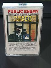It Takes a Nation of Millions to Hold Us Back [PA] Public Enemy cassette - b11