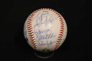 2002 BOSTON RED SOX SIGNED OLB3 CHINA BALL BUDDY BAILEY ZA416
