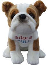"Faithful Friends British Bulldog 14"" Cuddly Soft Toy Dog - Winston Adora Bull"