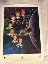 LOST IN SPACE LITHOGRAPH POSTER Lightspeed Fine Art 1997