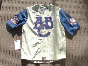 Negro League Atlanta Black Crackers PIG SUEDE SALEMEN SAMPLE JERSEY JH Design