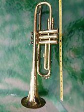 Vintage Czechoslovakian Brass Trumpet