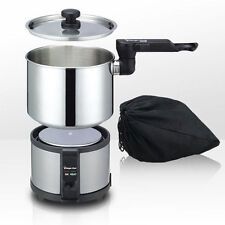 Magic Chef MEK-1300S Electric Multi Mini Cooker 1.3L Compact Travel - Expedited