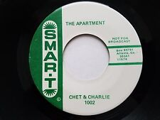 "CHET & CHARLIE - The Bullfighter / The Apartment PROMO 1960's Comedy 7"" SMAR-T"
