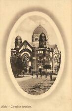 Judaica, Mako, Makó, Hungary, Synagogue, Old Postcard