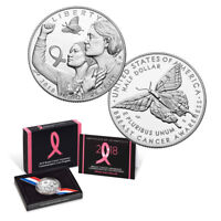 2018-S Breast Cancer Awareness Commemorative Half Dollar Proof Coin (OGP/COA)