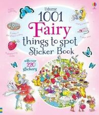 1001 Fairy Things to Spot Sticker Book by Gillian Doherty (Paperback, 2014)