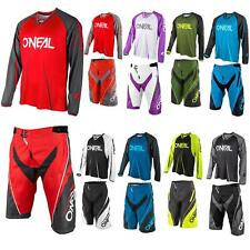 ONeal Element FR Blocker Jersey Shorts Trikot Fahrrad Mountainbike MTB Hose Pant