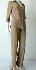 Jacqui E Size 8  US 4  Shirt And Pants Suit Made In Australia