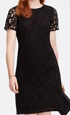 ANN TAYLOR LACE BLACK DRESS PETITE SIZE 2. NEW WITH TAG