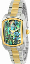 Invicta Lupah 24832 Women's Gold Tone Abalone Analog Tonneau Stainless Watch