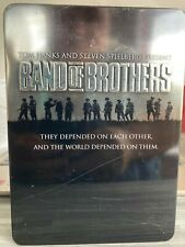 Band of Brothers DVD COMPLETE 10-PART HBO MINI SERIES 6-DISC SET Tin Case