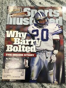 Sports Illustrated Magazine  August 9, 1999 - Barry Sanders  Detroit Lions