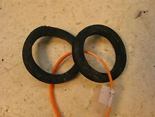 1975 yamaha rd250 twin headlight bucket fork ear rubber rings  y366~