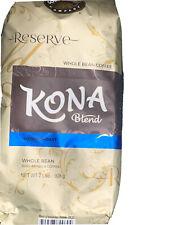 Kona Blend Coffee Whole Beans Hawaiian Gold 2 lbs