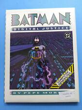 BATMAN DIGITAL JUSTICE 1990 NEW SEALED DC COMICS GRAPHIC NOVEL HARDCOVER