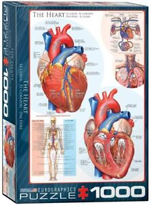The Heart 1000 piece jigsaw puzzle 490mm x 680mm (pz)