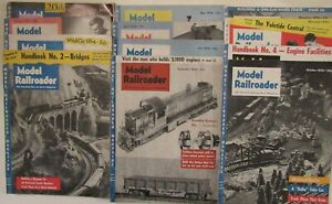 Model Railroader Magazine ~ 1954 Complete Year ~  12 Issues