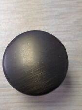 10 Pack - Oil Rubbed Bronze Cabinet Drawer Knob Pull w/ Screws K6143ORB