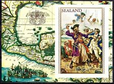 Sealand 1970 Admirals and Pirates/Sword Fight Sailing Boat Ships Maps m/s MNH